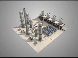 Установка производства нефтяного битума