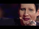 Marilyn Manson interview on italian TV show MUSIC [Full 2017]
