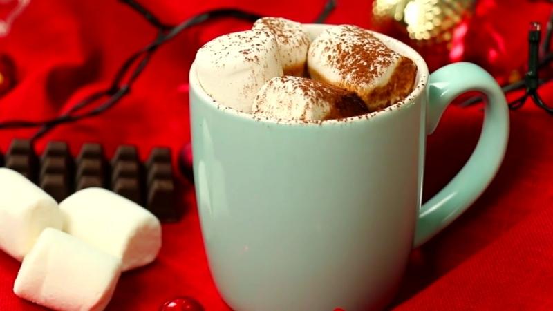 Горячий шоколад с маршмеллоу РЕЦЕПТ