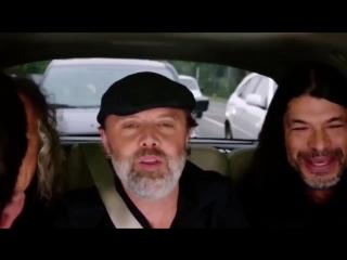 Metallica – Diamonds (by Rihanna), Carpool Karaoke