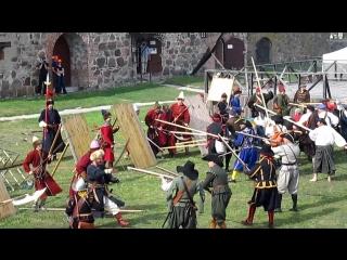 Битва за крепость Корела , Приозерск, реконструкция
