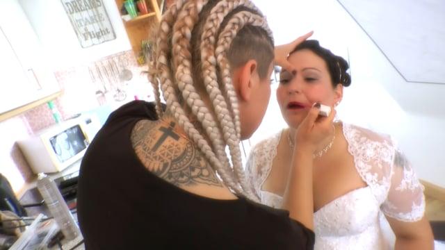 Hochzeitsvideo Sabrina Alexander, Unsere Hochzeitsfilm. Tel 01520 1707762
