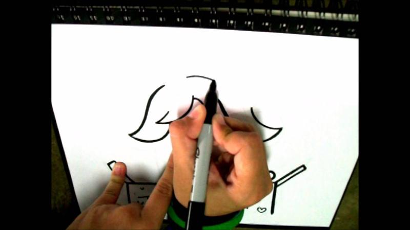 How to draw Temmie