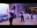 Танец Хава Нагила на Новогоднем корпоративе. Ресторан Словакия 16.12.2017 г.