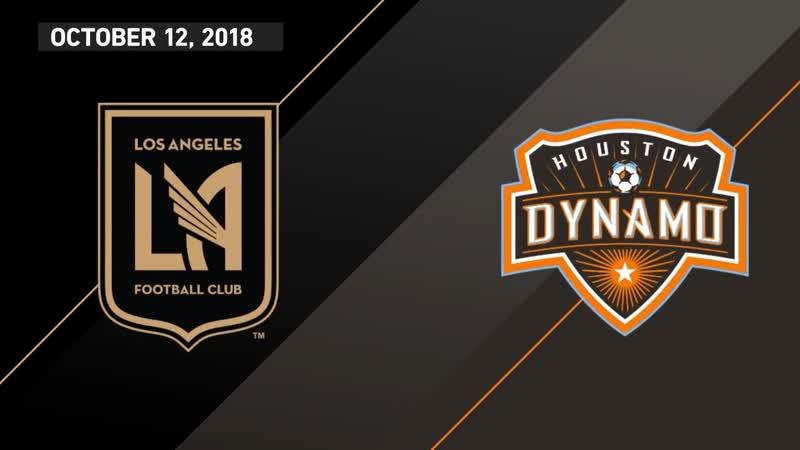 HIGHLIGHTS Los Angeles Football Club vs Houston Dynamo October 12 2018
