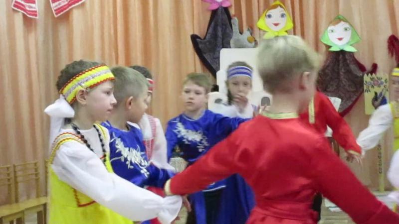 MVI_1263народный праздник Кузьминки в 351 детском саду г. Омска