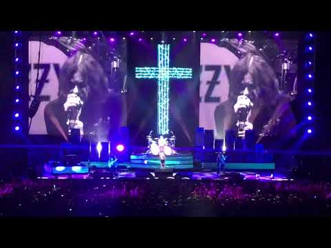"""OZZY OSBOURNE Moscow 01.06.2018 """"I Don'T Want To Change The World"""""""