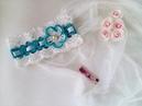 Летняя ажурная повязка крючком для девочки