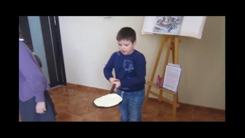 Масленица игра в блинчики
