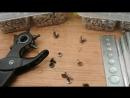 Как установить хольнитен заклепку Китайский инструмент для ручной установки хо