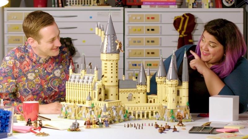 LEGO Harry Potter Hogwarts Castle - LEGO Designer Video Review - 71043