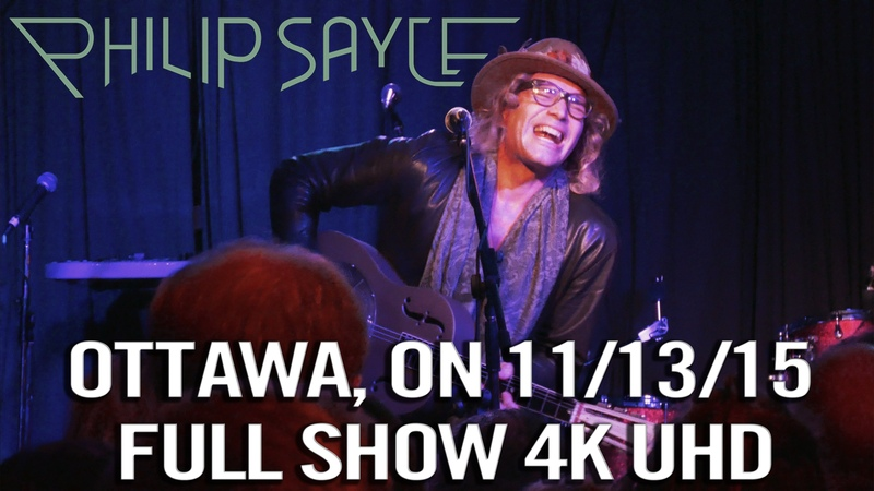 Philip Sayce Live @ Mavericks Ottawa Canada November 13 2015 4K UHD