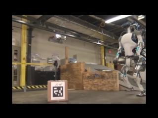 Новый Робот Атлас (Robot Atlas) представили в США