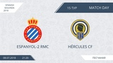 AFL18. Spain. Segunda. Day 15. Espanyol-2 RMC - Hercules CF