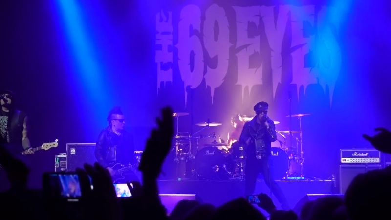 The 69 Eyes - Live @ Black Box, Helsingin Jäähalli, Helsinki Cheap Sunglasses - 27.12.2017