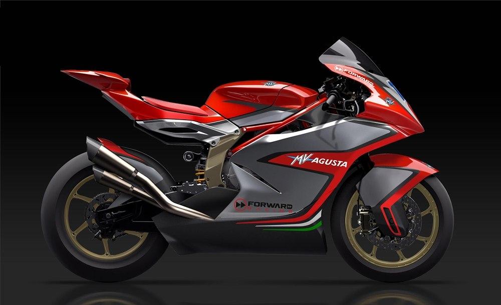 Дизайн гоночного мотоцикла MV Agusta Moto2 2019