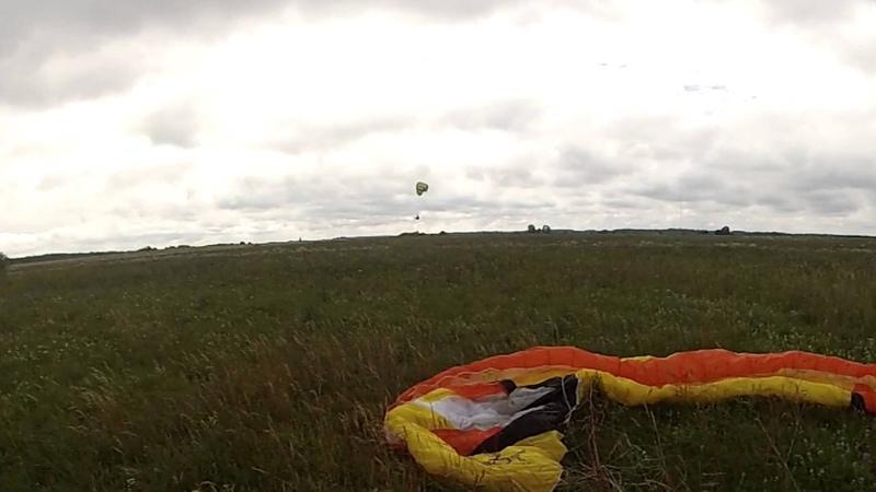 Посадка в роторной зоне на Shooka 19 Toili