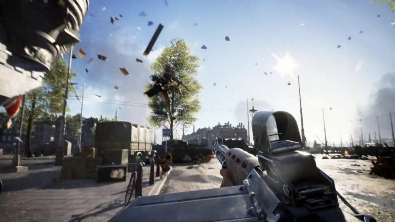 РЕКЛАМА - Battlefield 5 (Разрушение Роттердама) - Официальный трейлер