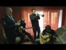 Владимир Фекленко и Денис Рожков на съёмках сериала Законы улиц 27 ноября 2014 г