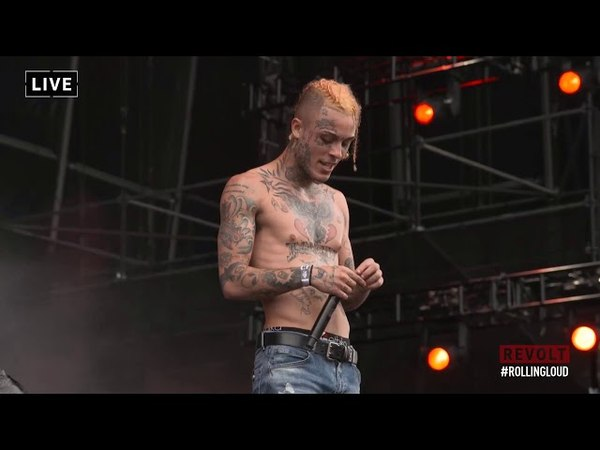 Lil Skies Landon Cube   LIVE AT ROLLING LOUD MIAMI 2018   Red Roses Nowadays