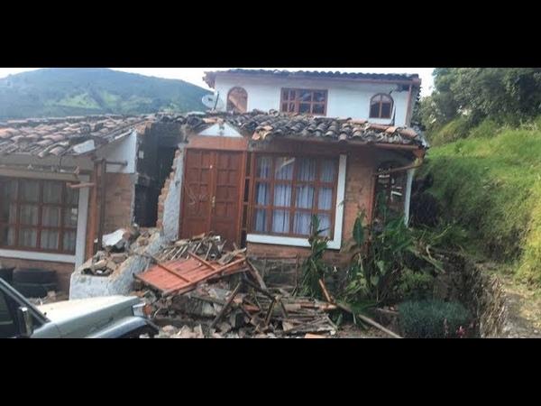 TERREMOTO Colombia con epicentro en el volcán Galeras 12 de Junio 2018