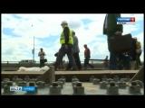 Движение по Петровскому мосту возобновится в декабре