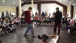 PUMBIK VS ANDY AAREN l FDC BATTLE HIP-HOP 1/8