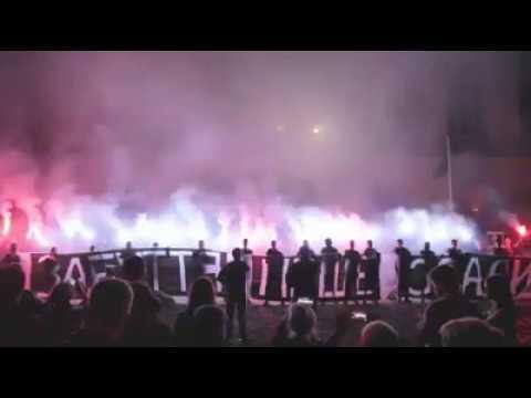 Національний Корпус Львівщини провів акцію на підтримку українських вязнів Кремля