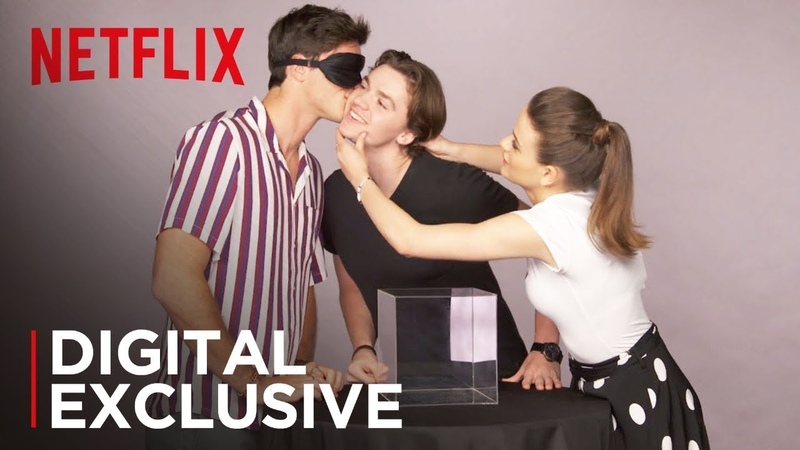 The Kissing Booth Cast Kisses A Hairless Cat Other Weird Stuff | Kiss Tell | Netflix