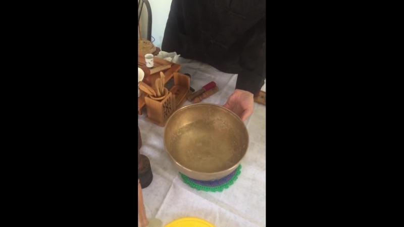 Поющая чаша в Марципане