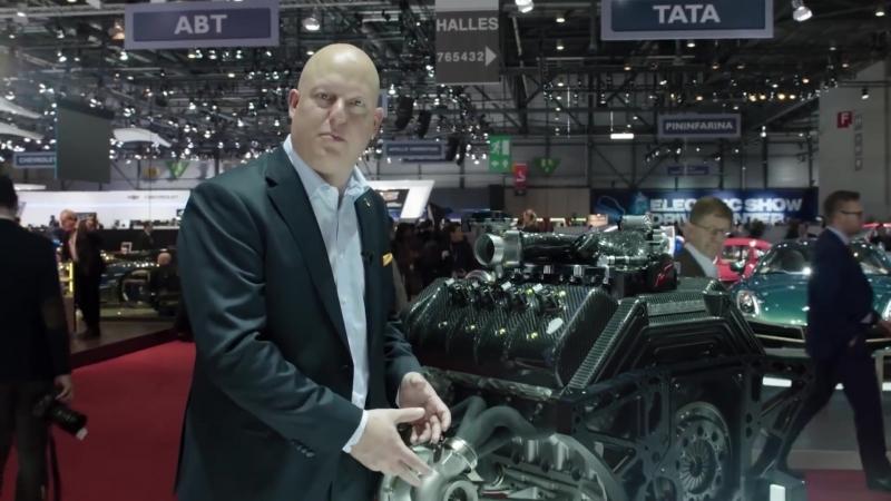 Koenigsegg изнутри турбина с изменяемой геометрией, распечатанная на 3D-принтере