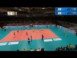 Montreux Volley Masters 2018. Монтрё. Россия vs Бразилия