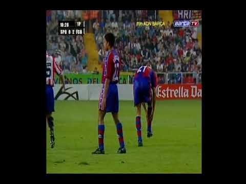 27 09 1997 Чемпионат Испании 4 тур Спортинг Хихон Барселона 1 4