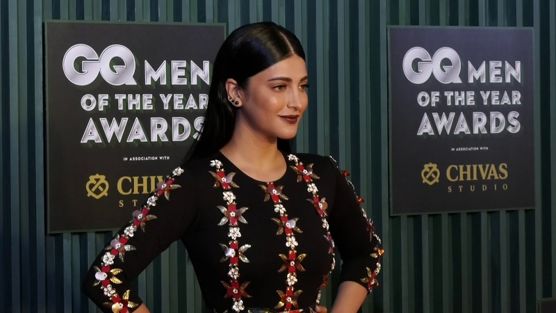 Shruti Haasan at GQ Man of the Year Awards 2018