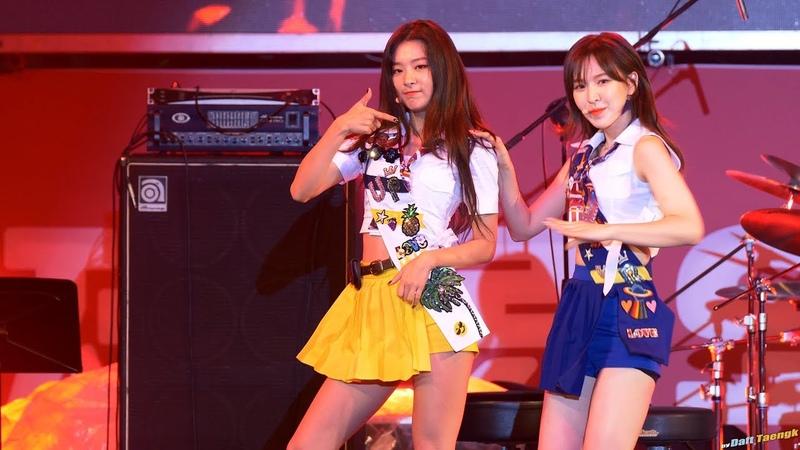 180916 슬기 Seulgi 레드벨벳 Red Velvet '빨간 맛 Red Flavor' 4K 60P 직캠 @어제그린오늘 뮤직페스티벌 by DaftTae