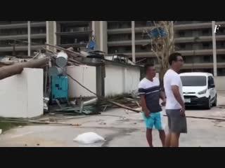 Super typhoon Yutu in Northern Mariana Islands, October 24-25 2018