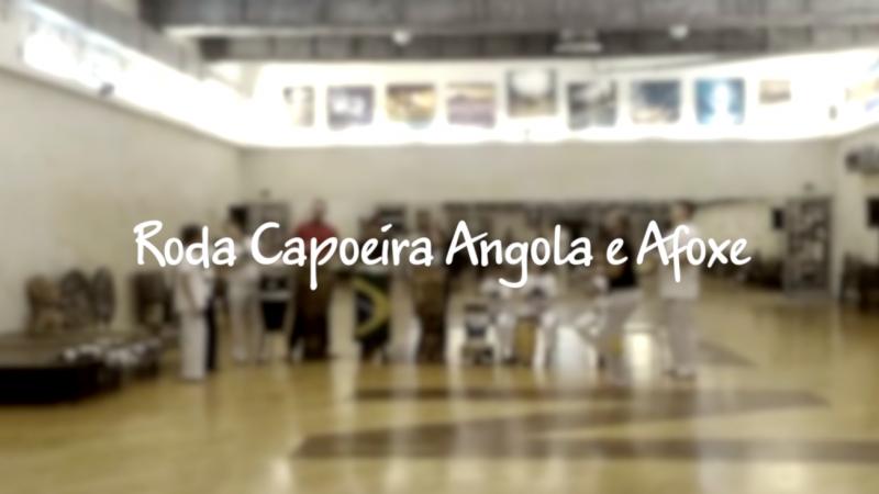 Roda Capoeira Angola e Afoxé