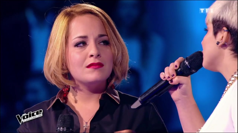 The Voice 2015│Elvya Gary VS Giuliana Danze - Il mio refugio (Richard Cocciante)│Battle