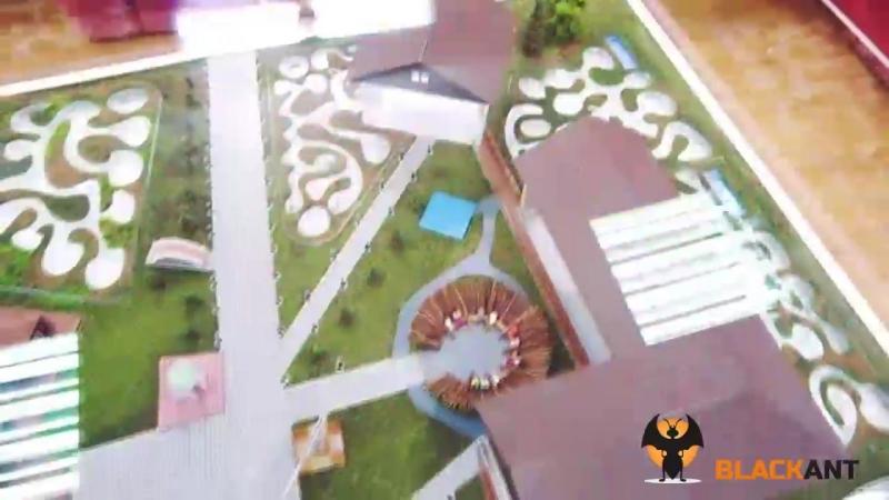 Муравьиная ферма для Дома-2 от BlackAnt
