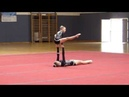 Sportakrobatik ÖM 2013 - 02 - Jugend 1 W2 Balance - USA Krems