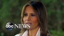 First lady Melania Trump on immigration family separation and 'the jacket' NIGHTLINE