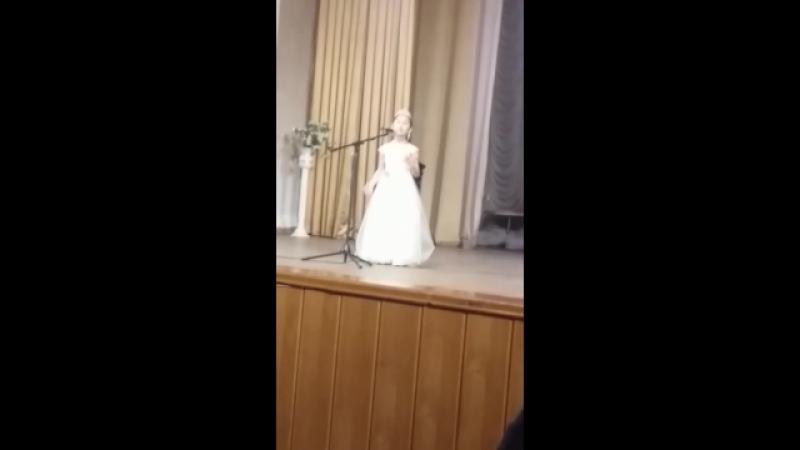 Казак концерт залы Каусарымнын окыган коркем сози