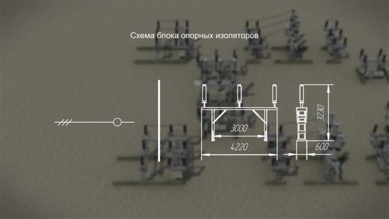 Комплектная трансформаторная подстанция блочная, КТПБ(М)-СЭЩ 110 кВ Электрощит-Самара - YouTube (720p)