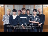 [VK][180611] MONSTA X Greetings message @ The 2nd World Tour: The Connect in Mexico