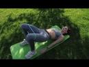 Тренировка с фитнес-резинкой!