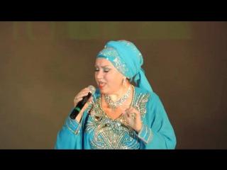 Халида Бигичева на концерте