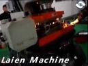 High speed punching press machine with feeder straightener