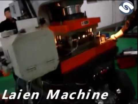 High speed punching press machine with feeder straightener
