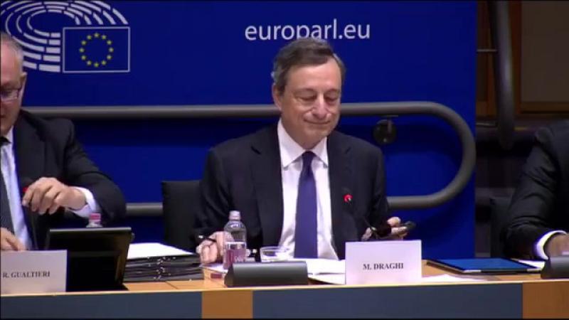 Bernd Lucke stellt Fragen an den EZB-Präsidenten Mario Draghi