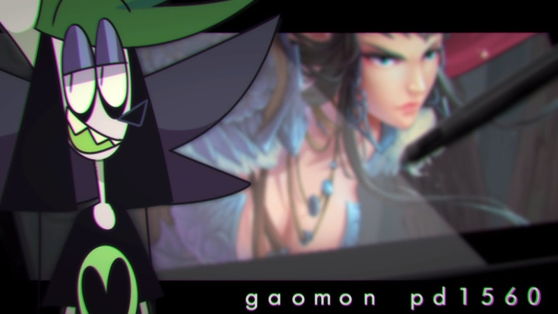 GAOMON PD1560 SCREEN DISPLAY TABLET| REVIEW (SPEEDPAINT)